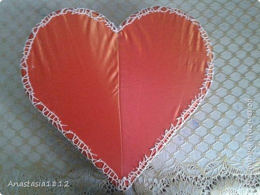 сердце с цветами+конфеты фото 4