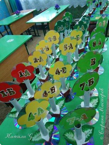Таблички на столы в школьную  столовую