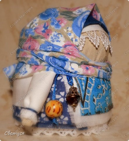 Зернушка-крупеничка (или Зерновушка) - традиционный славянский оберег на богатство, сытость и достаток. фото 2