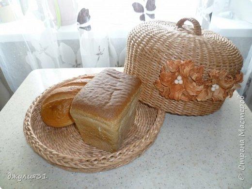 Здравствуйте жители и гости Страны! давненько я ничего не загружала.....работа, работа и опять работа решила я заняться хлебницами...и как всегда решила экспериментировать форма у них одна, а размер разный получился (разница около 3 см) фото 8