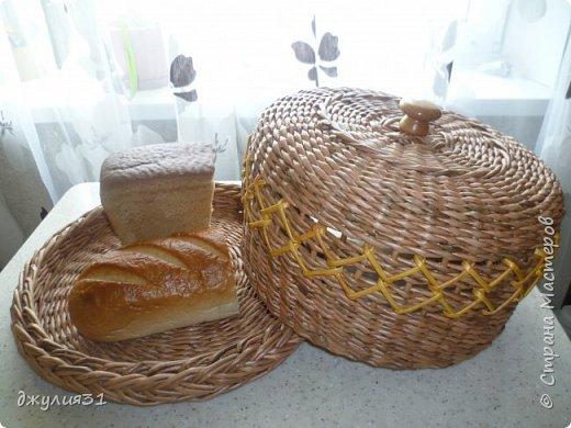 Здравствуйте жители и гости Страны! давненько я ничего не загружала.....работа, работа и опять работа решила я заняться хлебницами...и как всегда решила экспериментировать форма у них одна, а размер разный получился (разница около 3 см) фото 13