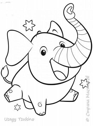 """Добрый вечер, Страна Мастеров! Предложили мне принять участие в благотворительной акции """"Купи слона, спаси ребенку жизнь!"""" Сначала для этой акции малыши делали слоников из соленого теста, рисовали картинки со слонами.  Я же решила, что свяжу пару слоников и сделаю картину из пластина. При чем игрушки я уже вязала, а пластилином не рисовала, но очень хотелось попробовать. Вот, что у меня получилось. фото 26"""