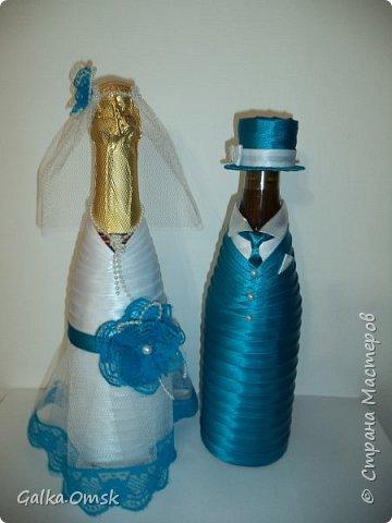 Одёжка на бутылку в подарок повару .Вилки и ложки - пластиковые фото 8