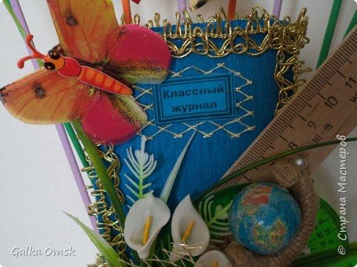 Это топиарий сделан мной в подарок учительнице фото 3