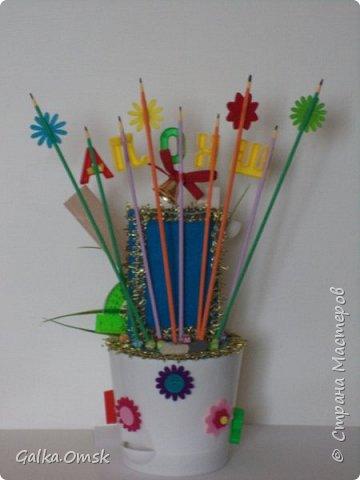 Это топиарий сделан мной в подарок учительнице фото 5
