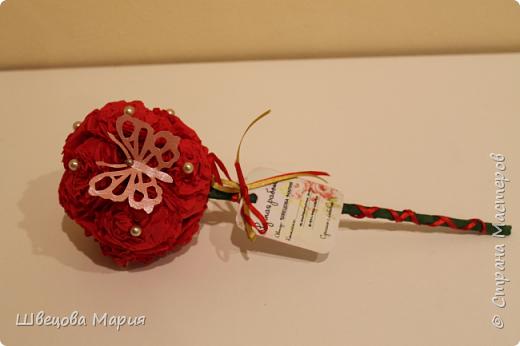 Розовая композиция с бабочкой фото 13