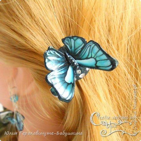Покажу еще немного из того, что накопилось))  Этот комплект из бабочек отправился жить к замечательной девочке)) фото 3