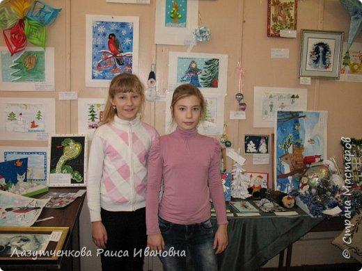 Хотелось показать наше участие в выставках школьных и  городских. Это все работы мои и моих детей. фото 8