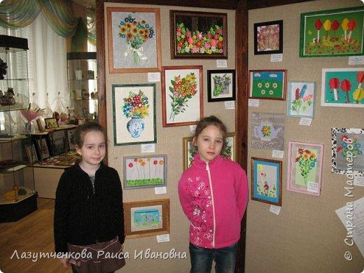 Хотелось показать наше участие в выставках школьных и  городских. Это все работы мои и моих детей. фото 23