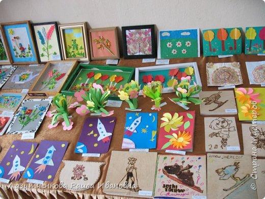 Хотелось показать наше участие в выставках школьных и  городских. Это все работы мои и моих детей. фото 2