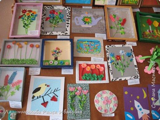 Хотелось показать наше участие в выставках школьных и  городских. Это все работы мои и моих детей. фото 3