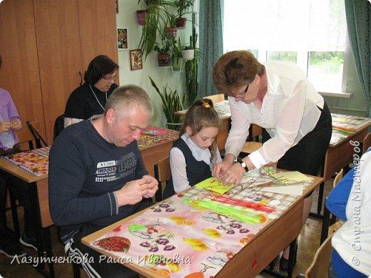 В конце года проводили мастер-класс для наших родителей. фото 3