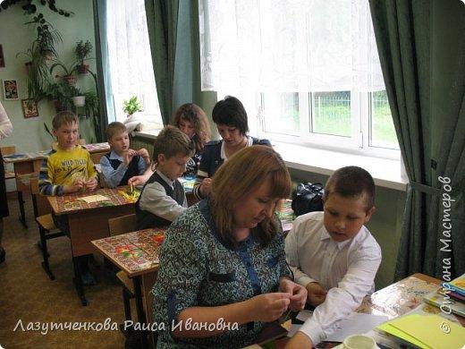 В конце года проводили мастер-класс для наших родителей. фото 4