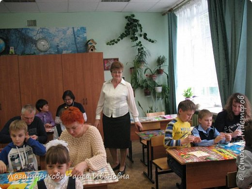 В конце года проводили мастер-класс для наших родителей. фото 5