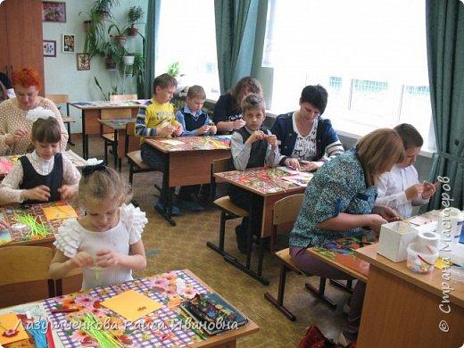 В конце года проводили мастер-класс для наших родителей. фото 6