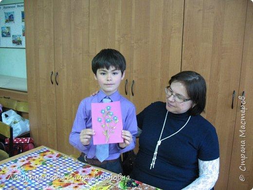 В конце года проводили мастер-класс для наших родителей. фото 14