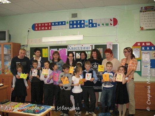 В конце года проводили мастер-класс для наших родителей. фото 2