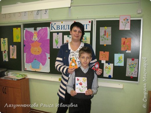 В конце года проводили мастер-класс для наших родителей. фото 10