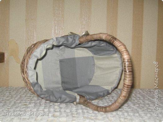 Большая,хозяйственная корзина и поменьше,декоративная. фото 7