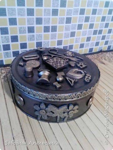 Шкатулка для рукоделия фото 2
