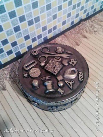 Шкатулка для рукоделия фото 3