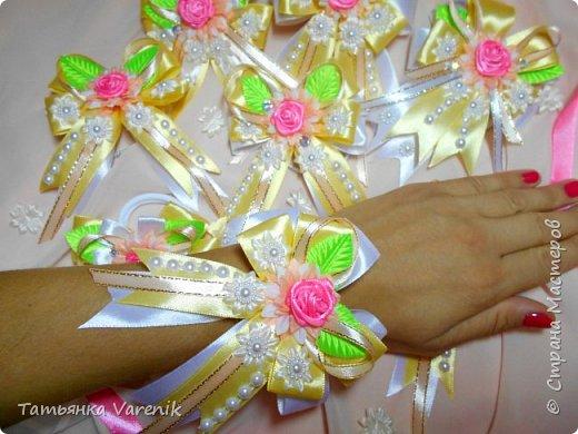 Свадебные бутоньерки фото 5