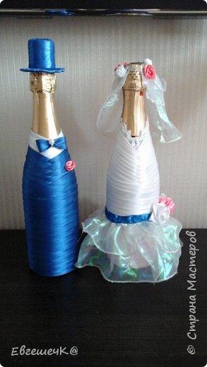 Свадебное шампанское фото 1