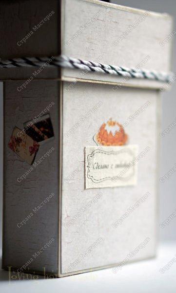 Добрый день! Спешу показать вам необычную коробочку. Вы, наверное, видели такую идею, а если нет, то советую применить её на деле) фото 7