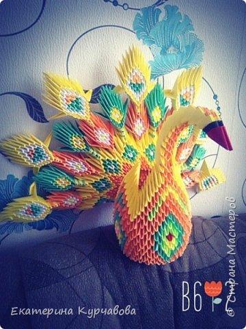 """Моя первая работа в технике """"модульное оригами"""". фото 1"""