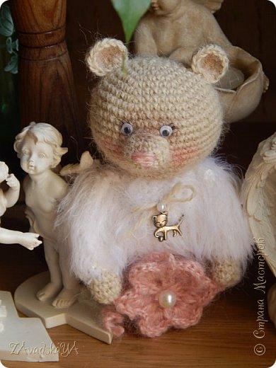 Мишка Снежинка)) фото 3