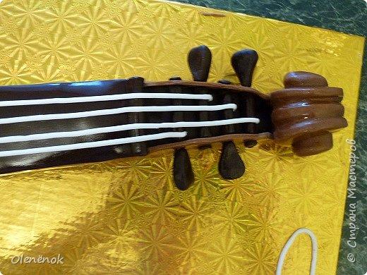 Тортик для талантливой девочки, играющей на скрипке, на 12-летие. фото 7