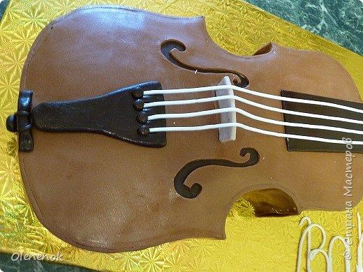 Тортик для талантливой девочки, играющей на скрипке, на 12-летие. фото 6