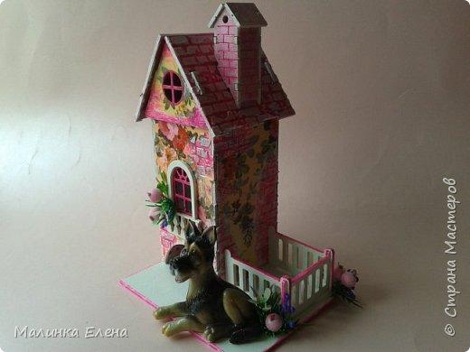 Чайный домик с охранником фото 1