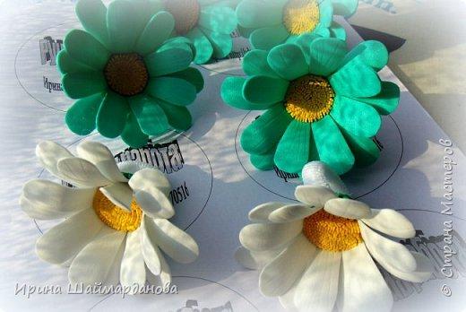 Всем привет!)) В свободное время сделала немного резиночек из фоамирана для племяшек фото 10