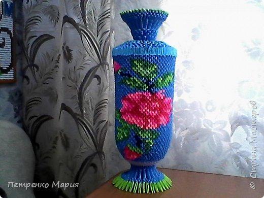 ваза сделана 28.07.2016 на конкурс - приму любые коментарии