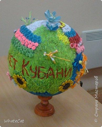 Глобус в стиле квиллинга! фото 4
