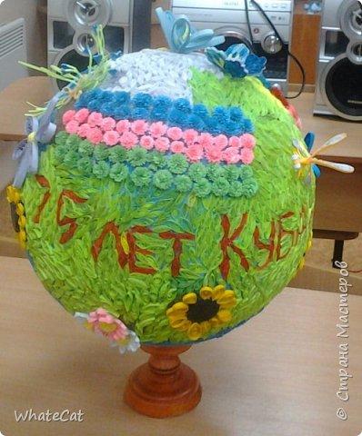 Глобус в стиле квиллинга! фото 6