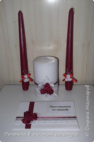 Приготовление к свадьбе началось с изготовления приглашений и семейного очага. фото 1