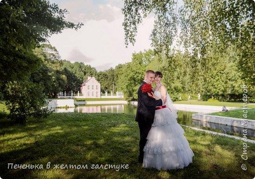 Приготовление к свадьбе началось с изготовления приглашений и семейного очага. фото 10