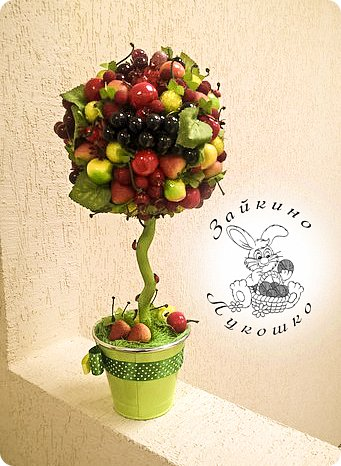 Мастер-класс фруктовый топиарий