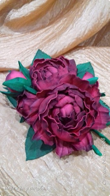 Добрый вечер мастера,мастерицы,а также гости СМ.Представляю вашему вниманию мои цветочки.Приятного просмотра. фото 8
