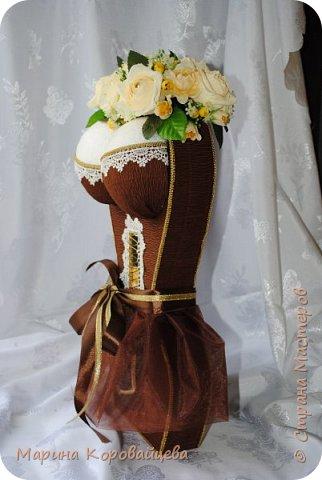 Здравствуйте друзья! Хочу поделиться последними работами. Шоколадная леди. Сделана на юбилей. Юбиляр доволен, хотя ему 75!!! :)) фото 2