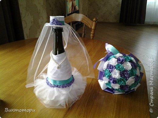 Доброго времени суток уважаемые жители СМ:-) Вот такие бутылочки получились у меня к 20-ой годовщине свадьбы друзей. фото 3