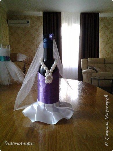 Доброго времени суток уважаемые жители СМ:-) Вот такие бутылочки получились у меня к 20-ой годовщине свадьбы друзей. фото 5