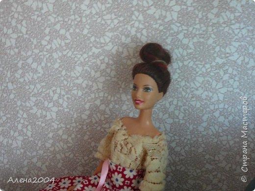 Привет СМ!!! Давно меня тут не было... Но теперь записи будут чаще. В этом блоге я хочу рассказать о Челси и ее наряде ,который состоит из:  * Юбки-солнце (которую я делала по МК  на ютюбе) * Кофточки которую шила бабушка. фото 1