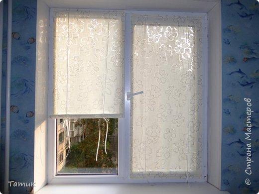 Сегодня я хочу показать несложный мастер-класс шторок на окно на липучках . Это альтернатива ролл- штор или жалюзи . Эконом вариант . Мастер-класс рассчитан на новичков в шитье . фото 1