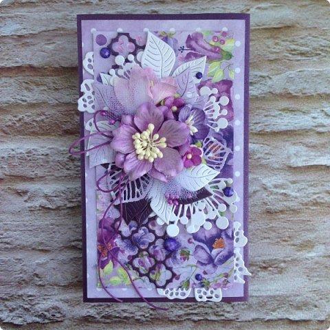 """Еще одна песнь о любви к бумаге, на обложке которой ангелок. Бумага Galeria Papieru. На этот раз коллекция сиреново-фиолетового цвета  """"Purple Rain-Фиолетовый дождь""""  фото 1"""