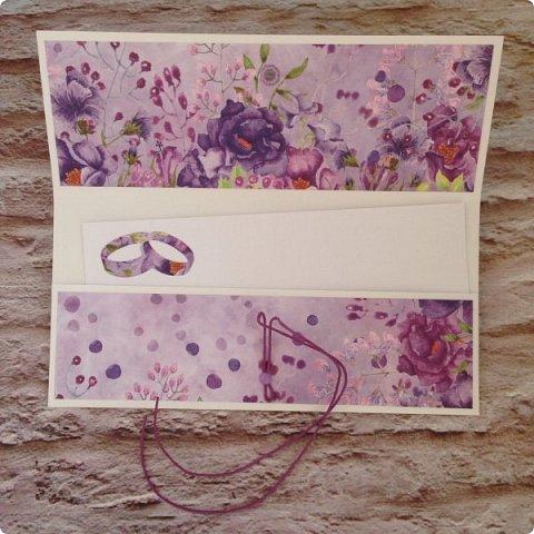 """Еще одна песнь о любви к бумаге, на обложке которой ангелок. Бумага Galeria Papieru. На этот раз коллекция сиреново-фиолетового цвета  """"Purple Rain-Фиолетовый дождь""""  фото 9"""