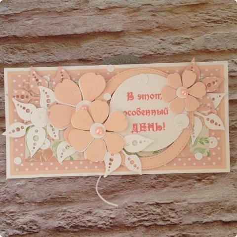 Ну, и в вдогонку бирюзе с фиолетовым дождем, еще два конвертика :) Сливочный монохром пользуется БОЛЬШОЙ популярностью:)  фото 7