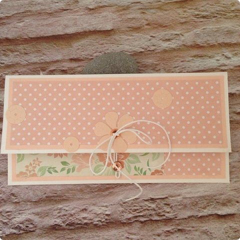 Ну, и в вдогонку бирюзе с фиолетовым дождем, еще два конвертика :) Сливочный монохром пользуется БОЛЬШОЙ популярностью:)  фото 11